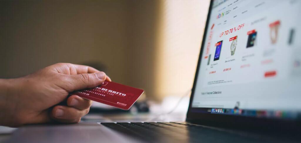 Buying something online