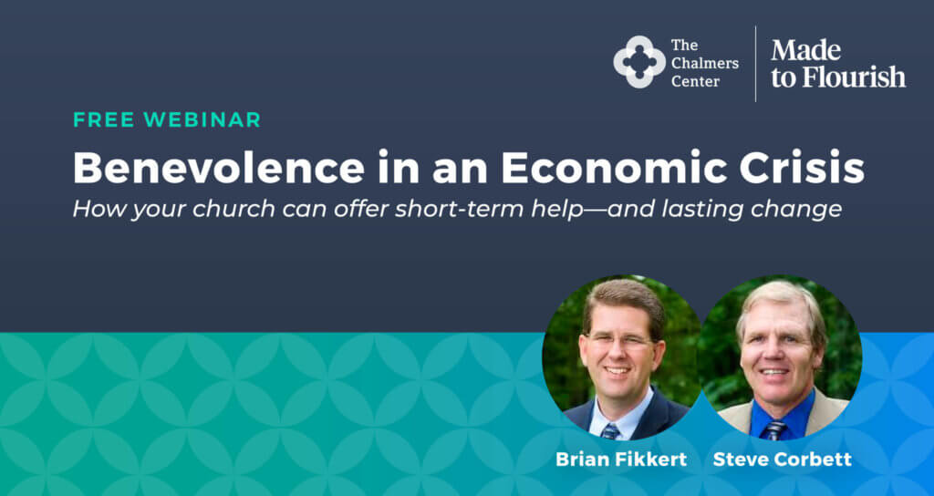 Benevolence in an Economic Crisis Webinar