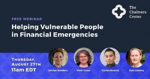 Helping Vulnerable People in Financial Emergencies