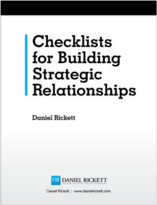 Checklists for Building Strategic Relationships