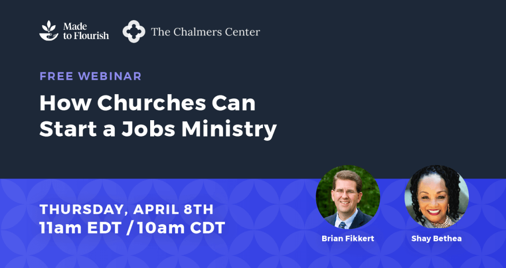 How Churches Can Start a Jobs Ministry